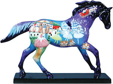 Trail of Painted Ponies Retired Nutcracker 1E 6