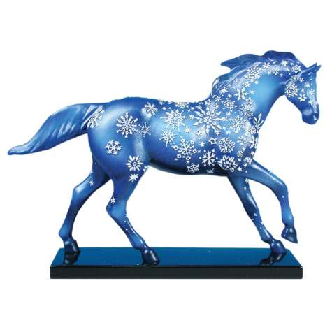 Painted Ponies Holiday Retired Snowflake 6