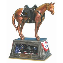 Painted Ponies Retired Fallen Heroes Memorial 8