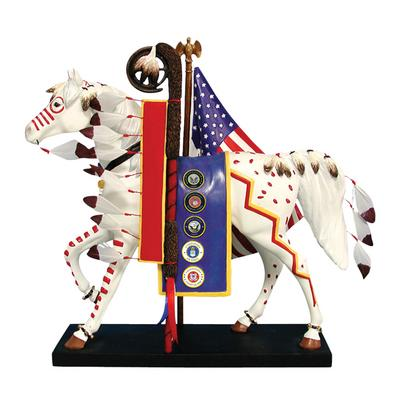Painted Ponies First Edition Trail of Honor 1E Patriotic Military 7