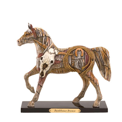 Painted Ponies Retired Bunkhouse Bronco 1E First Edition Figurine