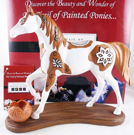 Painted Ponies First Edition 1E Spirit of the Seasons Native American Resin Horse Figurine
