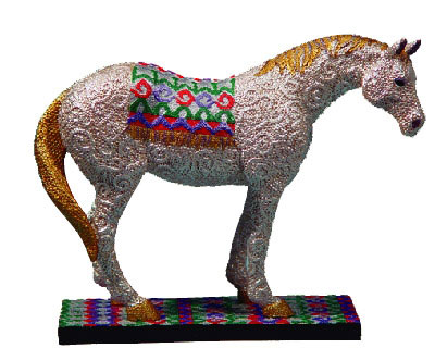 Painted Ponies Retired Sequintial: A Sequine Horse Figurine