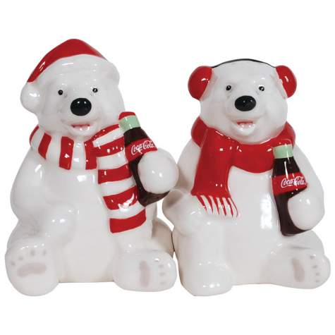 Westland Giftware Coca-Cola Polar Bears 3.5