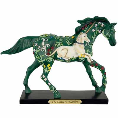 Trail of Painted Ponies First Edition Unicorn's Garden 1E Collectible Figurine