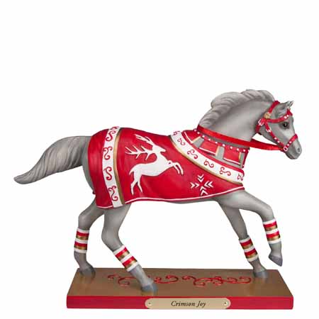 Trail of Painted Ponies 2016 Holiday Crimson Joy 7