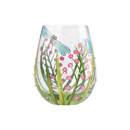 Enesco Lolita Special Gift Occasion Dragonfly Stemless 4