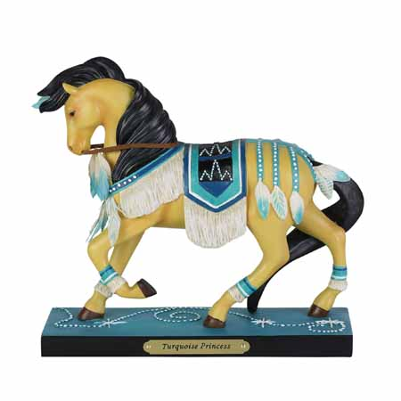 Trail of Painted Ponies Winter 2019 Turquoise Princess 7