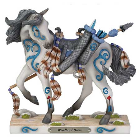 Painted Ponies RETIRED Woodland Brave 7