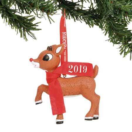 Department 56 Classic Brands Rudolph the Red-Nosed Reindeer Rudolph 2019 Dated 3.25