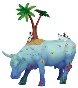 CowParade Retired No Cow Is An Island (Specially Commissioned) 4