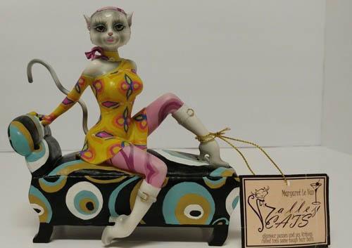 Gogo secret agent feline alley cats standard figurines