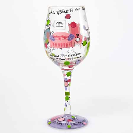 Lolita Glassware Mommy's Time Out 9