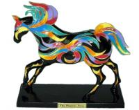 Trail of Painted Ponies Retired Phoenix Pony 1E Ltd. Edition Multicolor 1E Serial Numbered Horse Fig