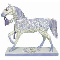 Painted Ponies Retired Holiday Crystal 6