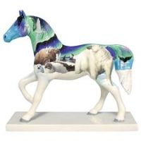 Trail of Painted Ponies Retired Northern Lights Horse Figurine