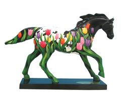 Painted Ponies Spring Four Seasons Tip-Toe Through the Tulips 6