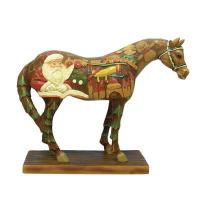 Painted Ponies Wooden Toy Horse Figurine