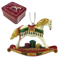 Painted Ponies Noel Ornament 2.5