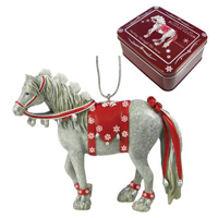 Painted Ponies Retired Holiday Dashing Through the Snow 2.5