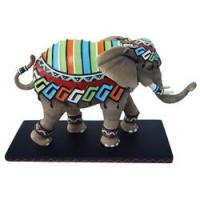 Tusk Elephants by Westland Giftware Retired Dayo Hand-Painted 6