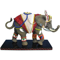 Tusk Elephants Retired Traveler Decorated Collectible 6