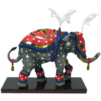 Tusk Elephants Retired Circus Star Collectible 6