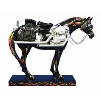 Trail of Painted Ponies Retired First Edition Motorcycle Mustang (Harley Horse) 6