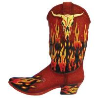 Westland Giftware Walking Tall Red Hot Bull 4