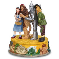 San Francisco Music Box Company Wizard of Oz Four Characters 5.75