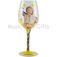 Marilyn Monroe Film Star Marilyn Wine Glass