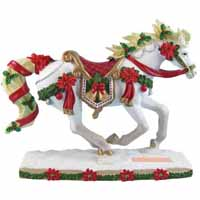 Horse of a Different Color Holiday 2015 Christmas Carousel Arabian 6