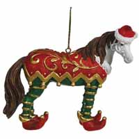 Horse of a Different Color Holiday 2014 Elf  2.75