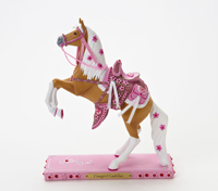 Painted Ponies First Edition Cowgirl Cadillac 8.5
