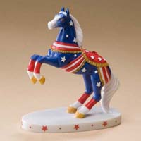 Painted Ponies Retired Celebrations Liberty 3.5