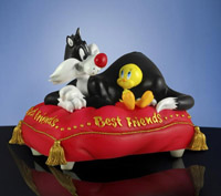 Looney Tunes Tweety and Sylvester Best Friends Music Box