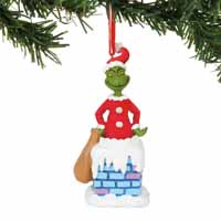 Department 56 Classic Grinch Into the Chimney Musical  4.5