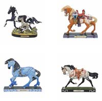 Trail of Painted Ponies Fall 2020 Fall 2020 Set of 4 Collector Figurines