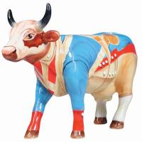 Cow Parade Revolutionary War Cow Figurine