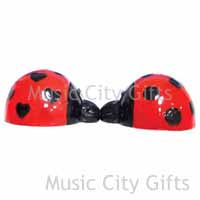 Mwah! Ladybugs Magnetic Salt and Pepper Shakers