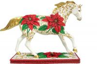 Painted Ponies Retired Holiday Poinsettia Pony 6