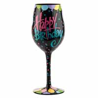 Lolita Glassware Happy Birthday 9