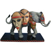 Tusk Elephants by Westland Giftware Retired African Tribal Mask 6.5