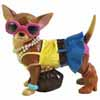 Aye Chihuahua Hollywood Casual Figurine