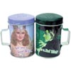 Wizard of Oz Good Witch or Bad Witch Tin S&P Shakers