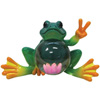 Peace Frogs Lotus Bullfrog Globe