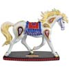 Horse of a Different Color Paisley Arabian Horse Figurine