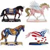 Horse of a Different Color Summer 2014 Set of 4 Figurines Presale