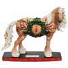 Horse of a Different Color Holiday Traditions Clydesdale Horse Holiday Figurine