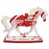 Horse of a Different Color Holiday Candy Cane Lane Arabian Horse Holiday Figurine